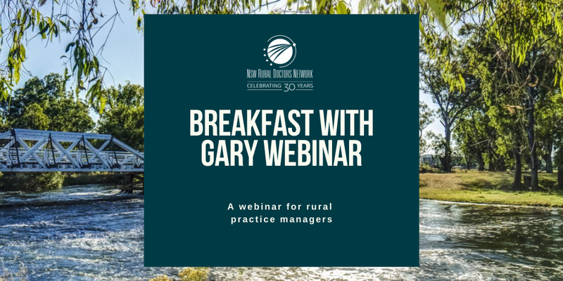 Breakfast with Gary - Practice Management Webinar
